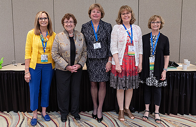 Smiles at a recent AAACN conference