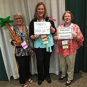 AAACN Nurses at a AAACN convention!