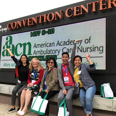 Nurses at a recent AAACN conference!