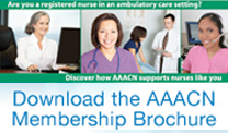 Download the AAACN Membership Brochure