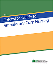 Preceptor Guide for Ambulatory Care Nursing