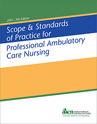 Ambulatory Care Scope and Standards